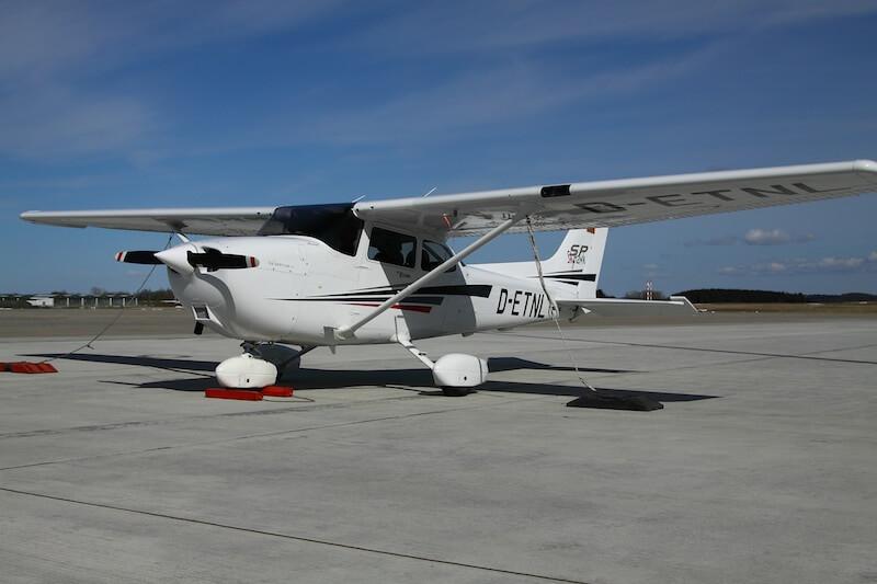 Cessna 172 SP für Rundflüge bis zu 3 Passagiere