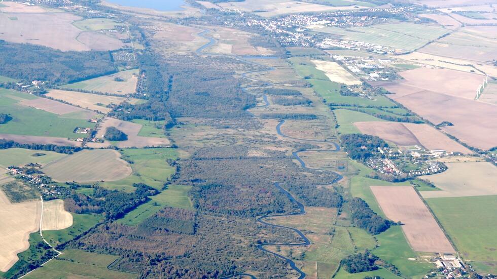 Rundflug Fischland-Darss-Zingst - das Trebeltal aus der Vogelperspektive