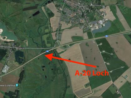 Rundflug A20 Loch Tribsees