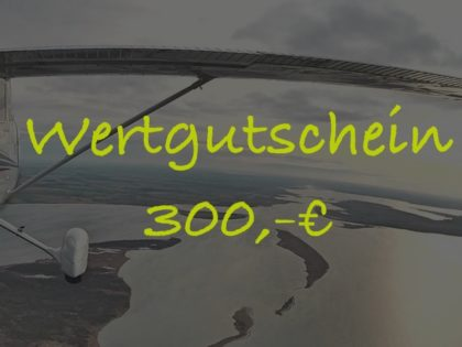 Wertgutschein 300,-€